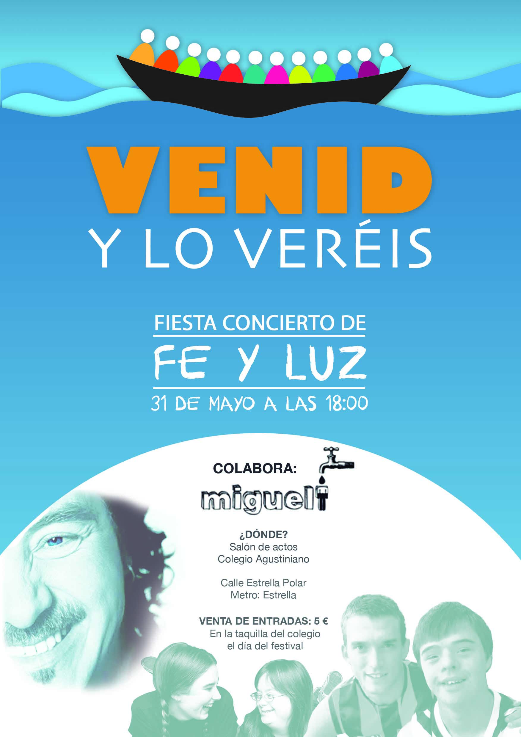 Fiesta concierto Fe y Luz