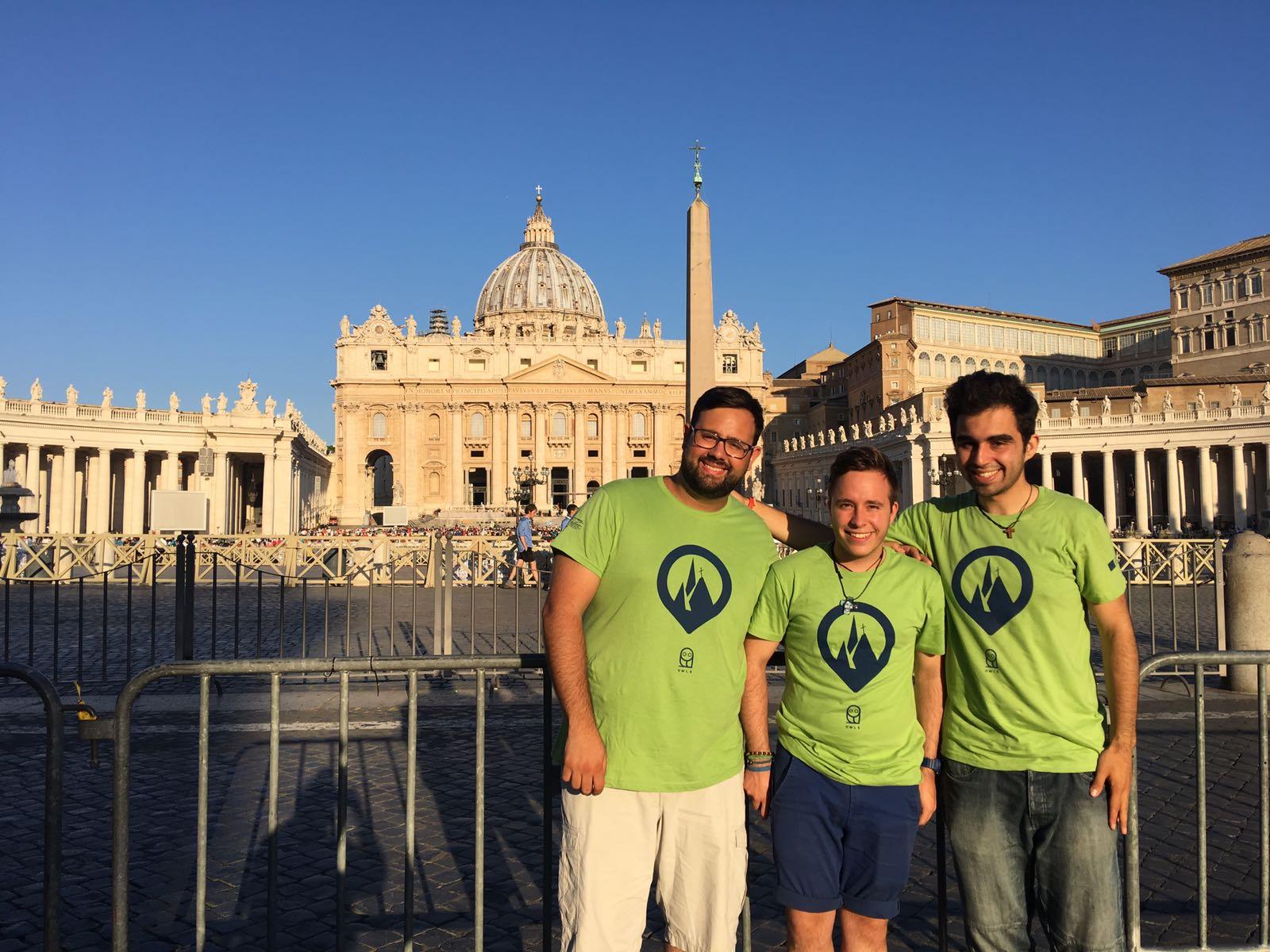 Españoles en el Encuentro presinodal de los jóvenes italianos