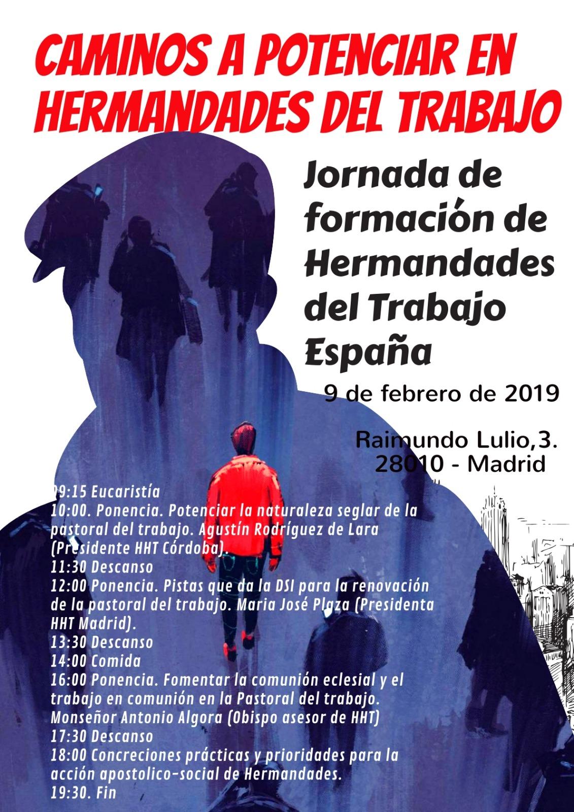 2019.02.09-Jornada formación Hermandades Trabajo