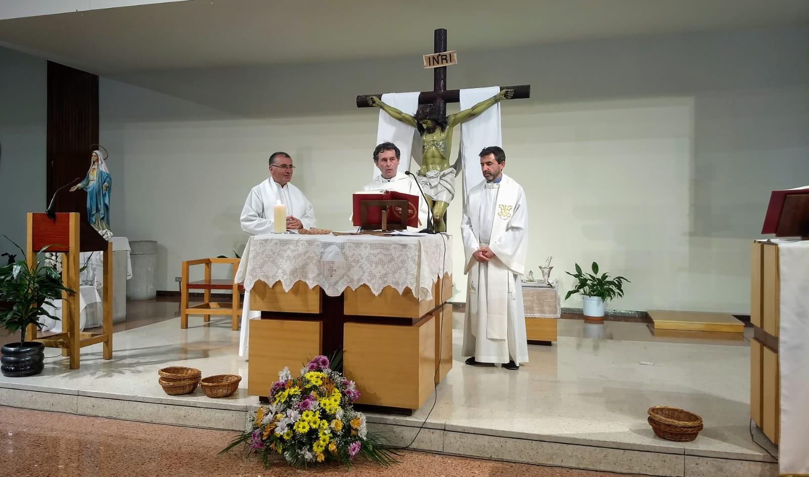 Eucaristía Obispo auxiliar de Bilbao